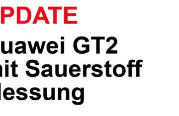 Huawei GT2 Sauerstoff